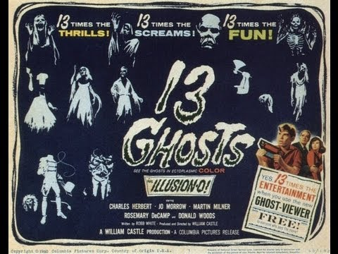 Halloween Movie Reviews:  13 Ghosts (original And Remake)  Review