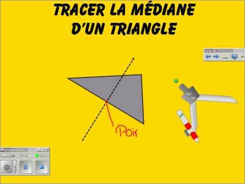 comment construire une hauteur d'un triangle quelconque