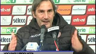 INTERVISTA ANGELO ADAMO GREGUCCI DOPO GARA SALERNITANA - PESCARA
