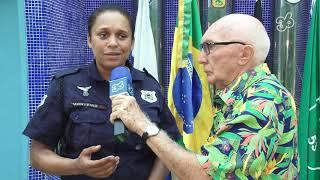 TIO MICA ACOMPANHA PROJETO DA GUARDA MIRIM NO MUSEU DOS EX-COMBATENTES