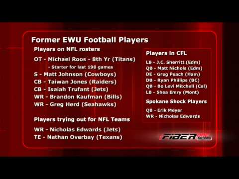 NFL may have Eight former EWU football players in 2013