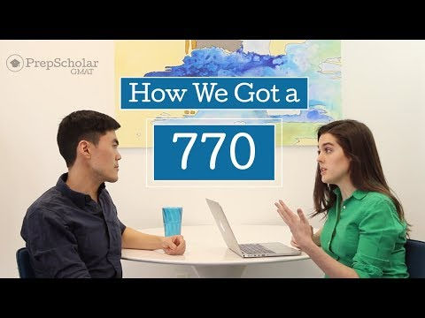 How We Got a 770 GMAT Score: Ask 2 Top Scorers
