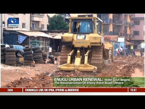 Enugu State Govt. Begins The Reconstruction Of Ebony Paint Road, Others