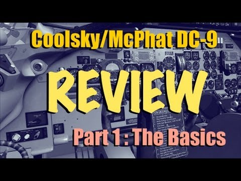 dc9 - Part 2 is now live! In this first of 3 videos looking in detail at the Coolsky/McPhat DC-9 for FSX, Froogle walks us through the SID he's going to fly on thi...