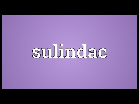 Sulindac Meaning