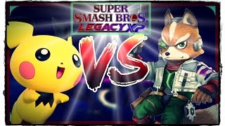 Super Smash Bros Legacy XP – Trying to win Level 9 Fox with Pichu!