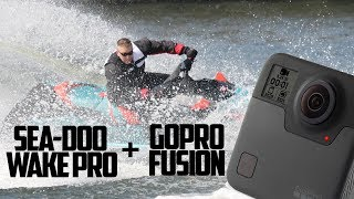 2. Sea-Doo Wake Pro 230, Wakeboarding, Towing with GoPro Fusion 360