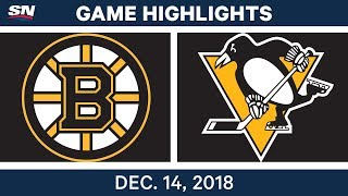 NHL Highlights | Bruins vs. Penguins - Dec 14, 2018 by Sportsnet Canada