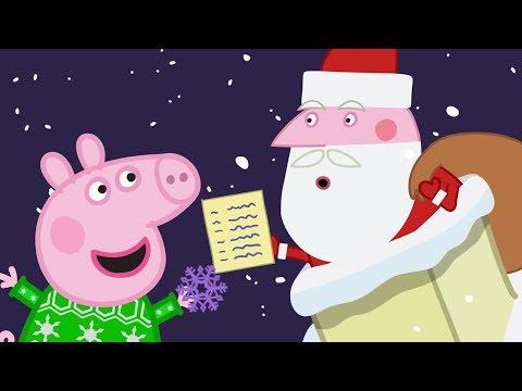 Peppa Pig en Español Episodios completos  LA CUEVA DE PAPÁ NOEL   Dibujos Animados