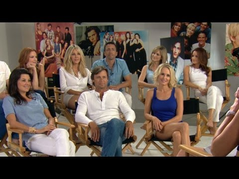 Andrew Shue - Entertainment Weekly welcomes cast back together from classic TV show.