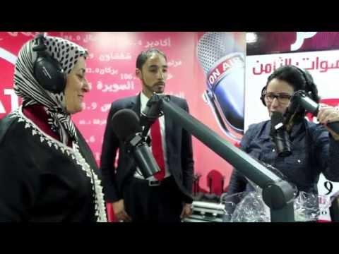 جمعية خميسة تزور وتكرم سناء الزعيم مباشرة على أصوات