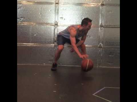 Dribbling drill for hand speed and ball control