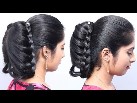 Easy Cute Hairstyle For Girls Beautiful Hairs Youtube Search