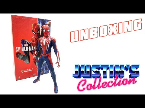 Hot Toys PS4 Spider-Man Advanced Suit Unboxing