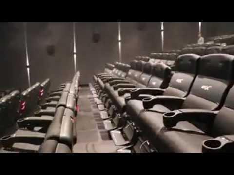 4D bioscoop -  Beweging, geur, wind, sneeuw en regen!