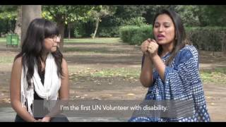 Meet Rupmani Cheri from India, she is the first UN Volunteer with a disability working with people with disabilities from India. The volunteer has been assigned from India to serve in Ukraine as UN Volunteer Specialist for overcoming the stigmatization of persons with disabilities. This deployment is a step towards ensuring that persons with disabilities fulfill their potential with dignity and equality, while also being yet another example of South-South cooperation through volunteerism.