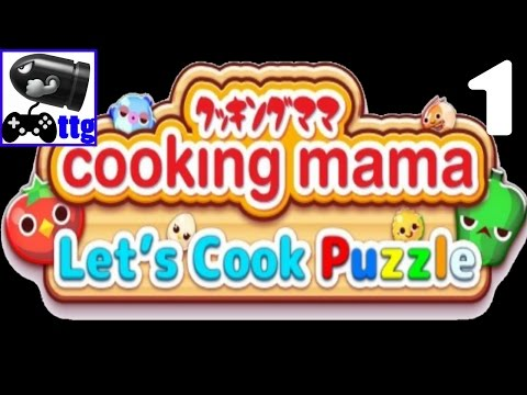 Cooking Mama Lets Cook Puzzle Gameplay Walktrough Part 1 (Android/IOS)