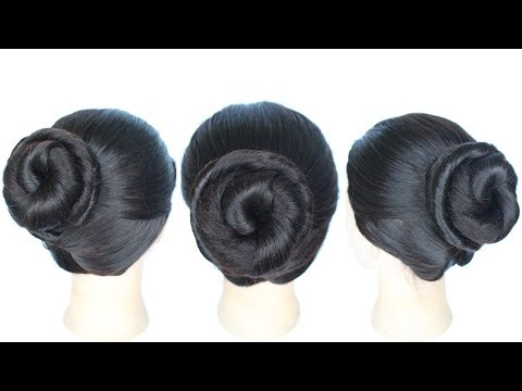 Short hair styles - twisted bun for summer  juda hairstyle  hairstyle  cute hairstyles  easy updos for girls