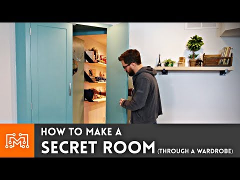 How to Make a Secret Room (Through a Wardrobe)