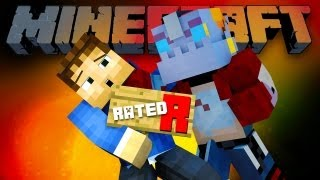 RATED R HUNGER GAMES! (Minecraft Hunger Games with Woofless and NoochM!)