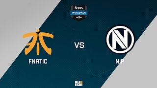 NiP vs fnatic, game 1