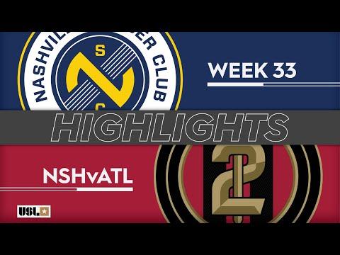 Nashville SC - Atlanta United 2 3:0. Видеообзор матча 20.10.2019. Видео голов и опасных моментов игры