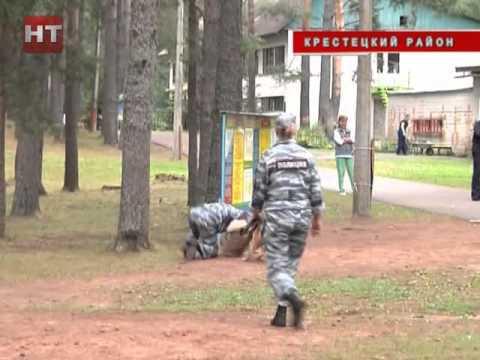 Сотрудники областной полиции  посетили детский оздоровительно-образовательный центр