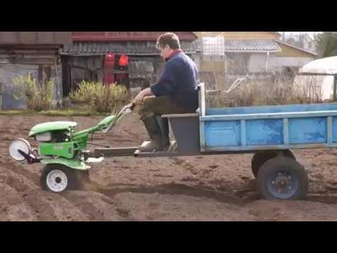 Снова-здорОво! Мотоблок Gardener 750 опять в строю