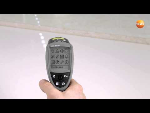 Professional Infrared Thermometer testo 835 - Step 2 - How t