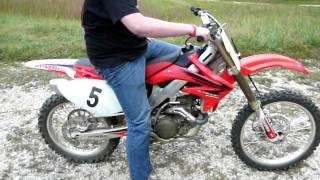 8. 2007 Honda crf450r..