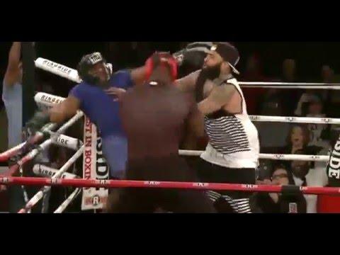 Big Brody vs Tyrone - Celebrity Boxing FULL FIGHT