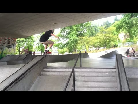 Eugene Parks Tour [iPhone Skate Video]