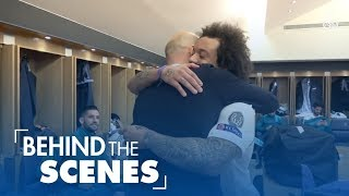 Video RONALDO, MARCELO, RAMOS and their teammates take you through our victory in Paris against PSG MP3, 3GP, MP4, WEBM, AVI, FLV Maret 2018