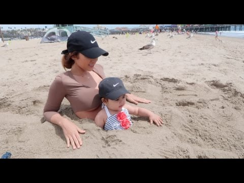 Mommy And Baby Trapped In Sand!!!
