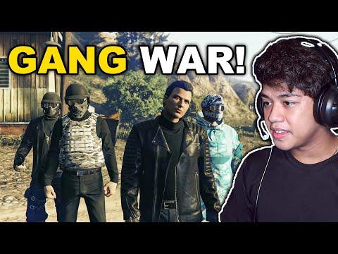 First GANG WAR ng BILLIONAIRE GANG!! (gyera na) | Gta 5 ONLINE