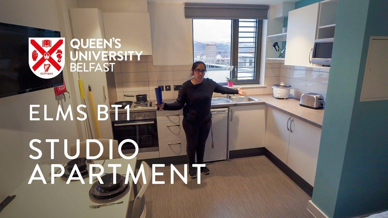 Video Thumbnail: Studio apartment I Elms BT1 and 2