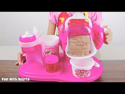 Mainan Anak My Ice Cream Maker - Make Your Own Ice Cream Chocolate