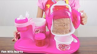 Video Mainan Anak My Ice Cream Maker - Make Your Own Ice Cream Chocolate MP3, 3GP, MP4, WEBM, AVI, FLV Juli 2018