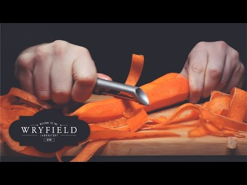 Oddly Comforting AMSR Footage of a Carrot Being Peeled In