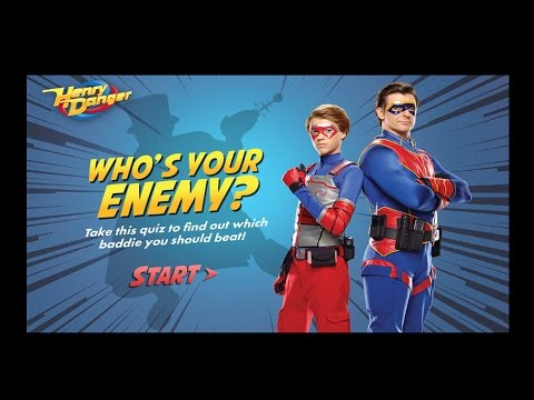 Nick Games | Henry Danger | Who's Your Enemy?