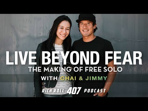 Live Beyond Fear: Jimmy Chin & Chai Vasarhelyi on 'Free Solo'   Rich Roll Podcast