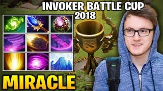 Video Miracle Invoker In Battle Cup - Skill Efficiency at the Best MP3, 3GP, MP4, WEBM, AVI, FLV Desember 2018