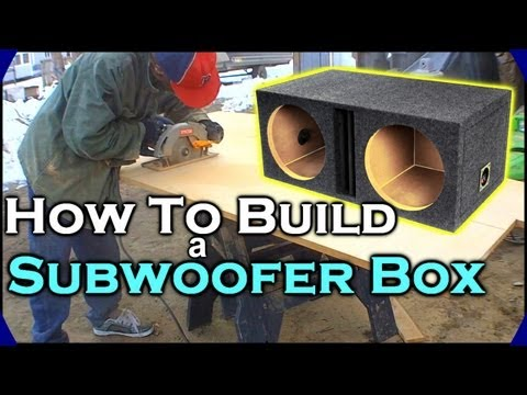 subwoofer - Ever wanted to build yourself a nice subwoofer box, but don't know how to design, build or install one? Look no further! These series of videos will show you...