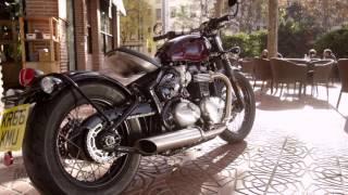 4. 2017 Triumph Bonneville Bobber Review