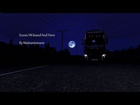 Scania V8 Sound and Horn
