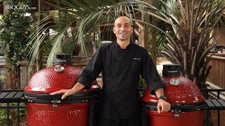 Take a close look at the Kamado Joe Classic II 2017 in this BBQGuys.com review!  Shop Kamado Joe Here: https://www.bbqguys.com/brands/kamado-joe?sstring%5B0%5D=kamado%2BjoeKey Features:   - Divide & Conquer Flexible Cooking System allows you to cook food at multiple levels & different temperatures   - Durable wire mesh fiberglass gasket offers a superior air-tight seal   - Air lift hinge reduces dome weight, allowing you to lift the kamado lid with ease   - Cast aluminum Kontrol Tower top vent allows for consistent airflow & prevents rain from entering the grill   - Includes split heat deflectors for direct or indirect cookingFeaturing: Chef Tony MatassaFilmed/Produced by: Paris FrederickMusic: www.joshwoodward.com