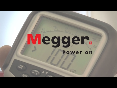 Industrial Insulation Testers - Megger MIT400 Series Video Image