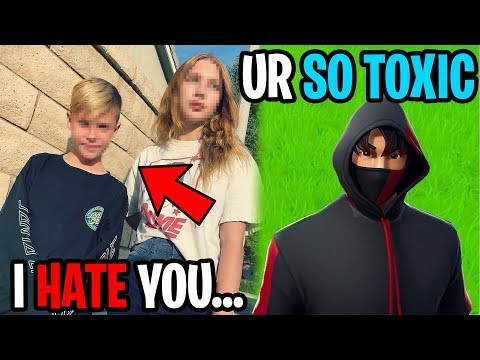 My Crushes Little Brother Hates Me...(Fortnite)