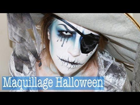 Maquillage Halloween / Halloween Makeup : Fantome