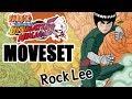 Rock Lee Moveset
